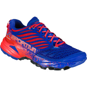 La Sportiva Akasha Running Shoes Women royal/cherry